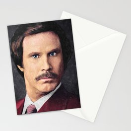 Ron Burgundy Stationery Cards