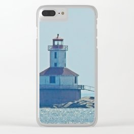 Indian Head Lighthouse PEI Clear iPhone Case