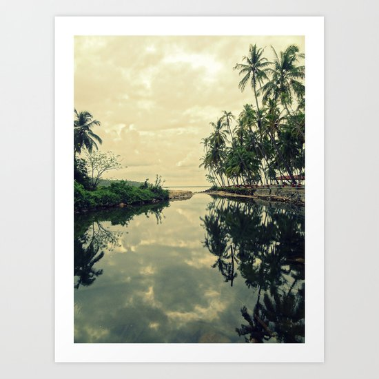 Mood for Reflection Art Print