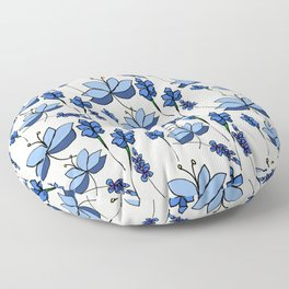Lavender and Lilacs Floor Pillow