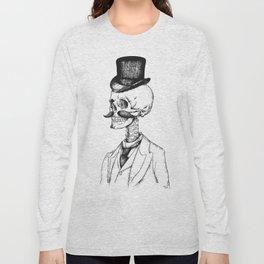 Old Gentleman  Long Sleeve T-shirt