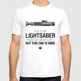 This is my Lightsaber (Luke Version) T-shirt