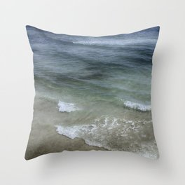 Shimmering Tide Throw Pillow