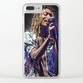 wiz khalifa Clear iPhone Case