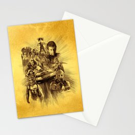 Homage to Mad Max Stationery Cards