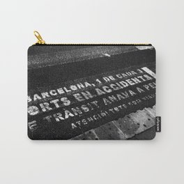 Barcelona Street Carry-All Pouch