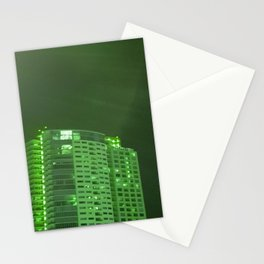 Green latern Stationery Cards