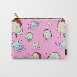 Creepy Pink Pattern Carry-All Pouch