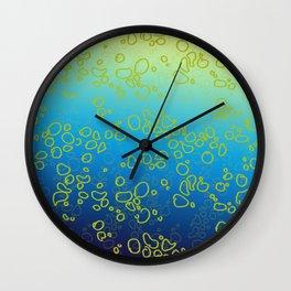 Cor∆lTextureGr∆dient Wall Clock