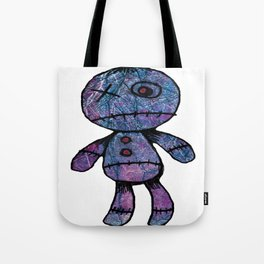 Little guy, colors, blue, red, pink Tote Bag