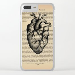 Pride & Prejudice, Chapter XXXV: Anatomical Heart Clear iPhone Case