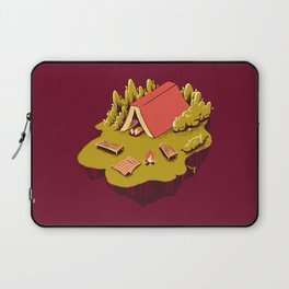 The Best Vacation Reading Book Camping Laptop Sleeve