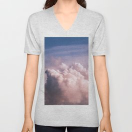 Clouds in the Sky Unisex V-Neck