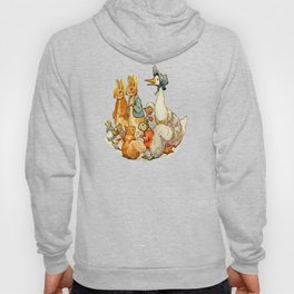 Bedtime Story Animals Hoody