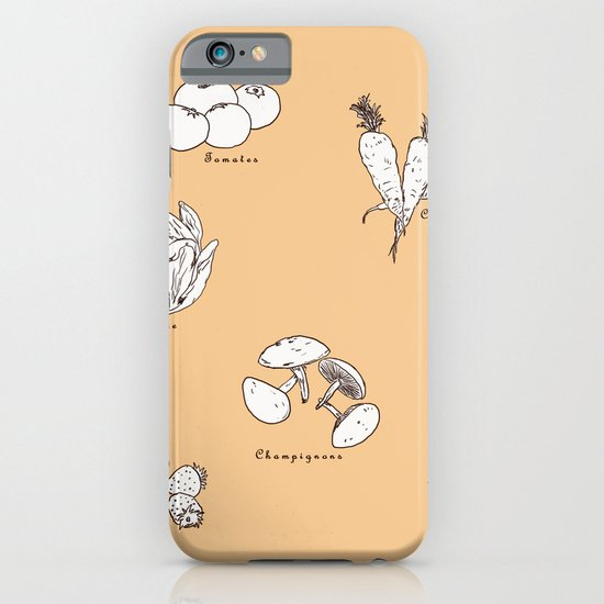 Fruit And Vegetables iPhone & iPod Case