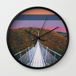 Colorscape II Wall Clock