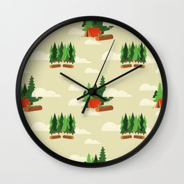 cumbaya Wall Clock