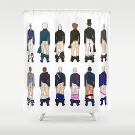 President Butts Shower Curtain