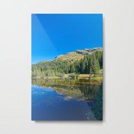 Treasure Island Alp Flix - Landscape Metal Print