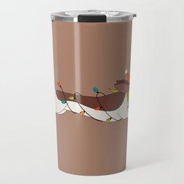 Christmas Dachshund Travel Mug