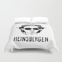tenenbaums Duvet Covers featuring Heinsbergen (Royal Tenenbaums/Breaking Bad) by Tabner's