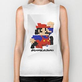 Pixel Mario Biker Tank