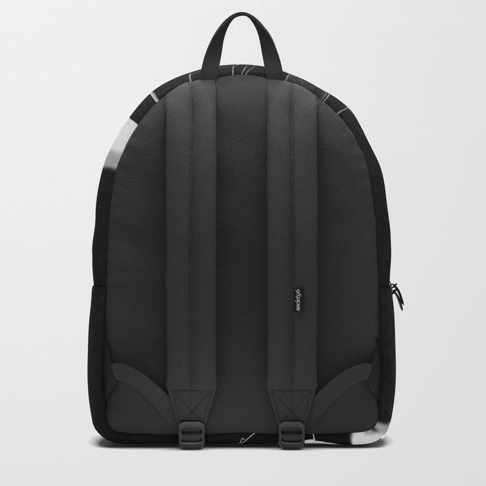 retro machine . inversion Backpack