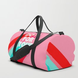 Do it for Yourself #motivational words Duffle Bag