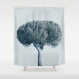 Monochrome - Candelabra tree Shower Curtain