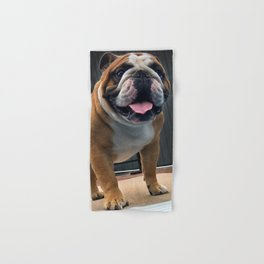 Meatloaf:English Bulldog Hand & Bath Towel