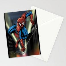 Sharp Spidey Swing Stationery Cards