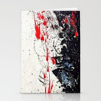 sin city Stationery Cards featuring Cosmos shower (Sin City inspired) by Alejandro Polania