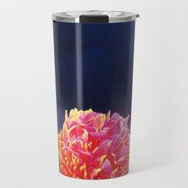Volcanic Flower Travel Mug