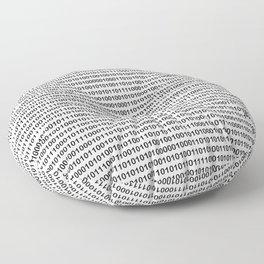 The binary code Floor Pillow