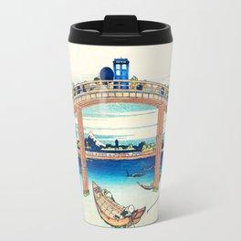Tardis At The Bridge Travel Mug