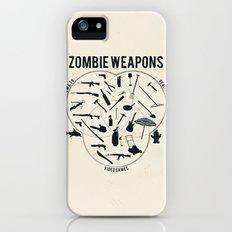 Zombie weapons Slim Case iPhone (5, 5s)