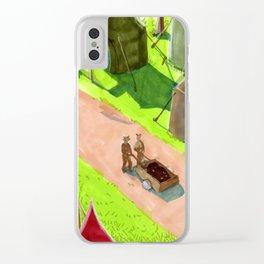 Aslan's camp Clear iPhone Case
