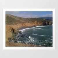Mori Point Pacifica Art Print