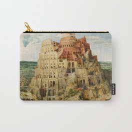 Pieter Bruegel the Elder - The Tower of Babel Carry-All Pouch
