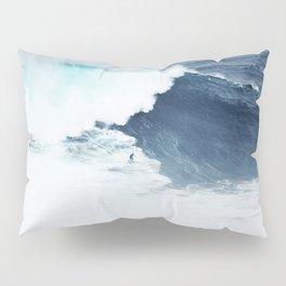 Wave Surfer Indigo Pillow Sham