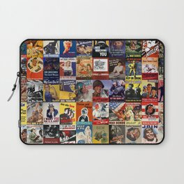 WWII Posters Laptop Sleeve