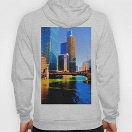 Clark St. Bridge, Chicago (Pop) Hoody