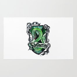 Slytherin Vector Rug