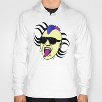 punk Hoodies featuring PUNK!!! by Denis Marsili DDTK
