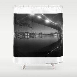 PASSING REFLECTION Shower Curtain