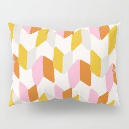 delilah, chevron pattern Pillow Sham