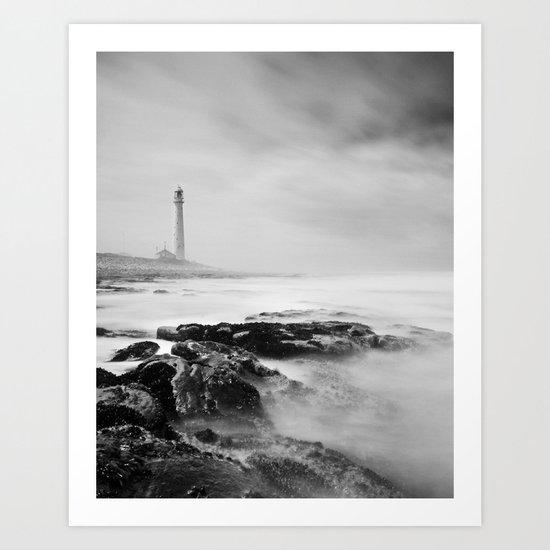 Slangkop Lighthouse Art Print