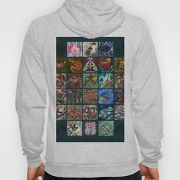 The Unusual Animal Alphabet Hoody