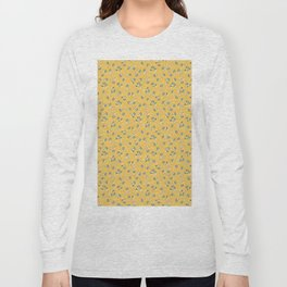 Wind Flower in Yellow Long Sleeve T-shirt