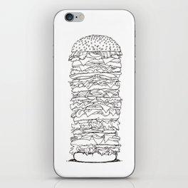Giant Burger iPhone Skin